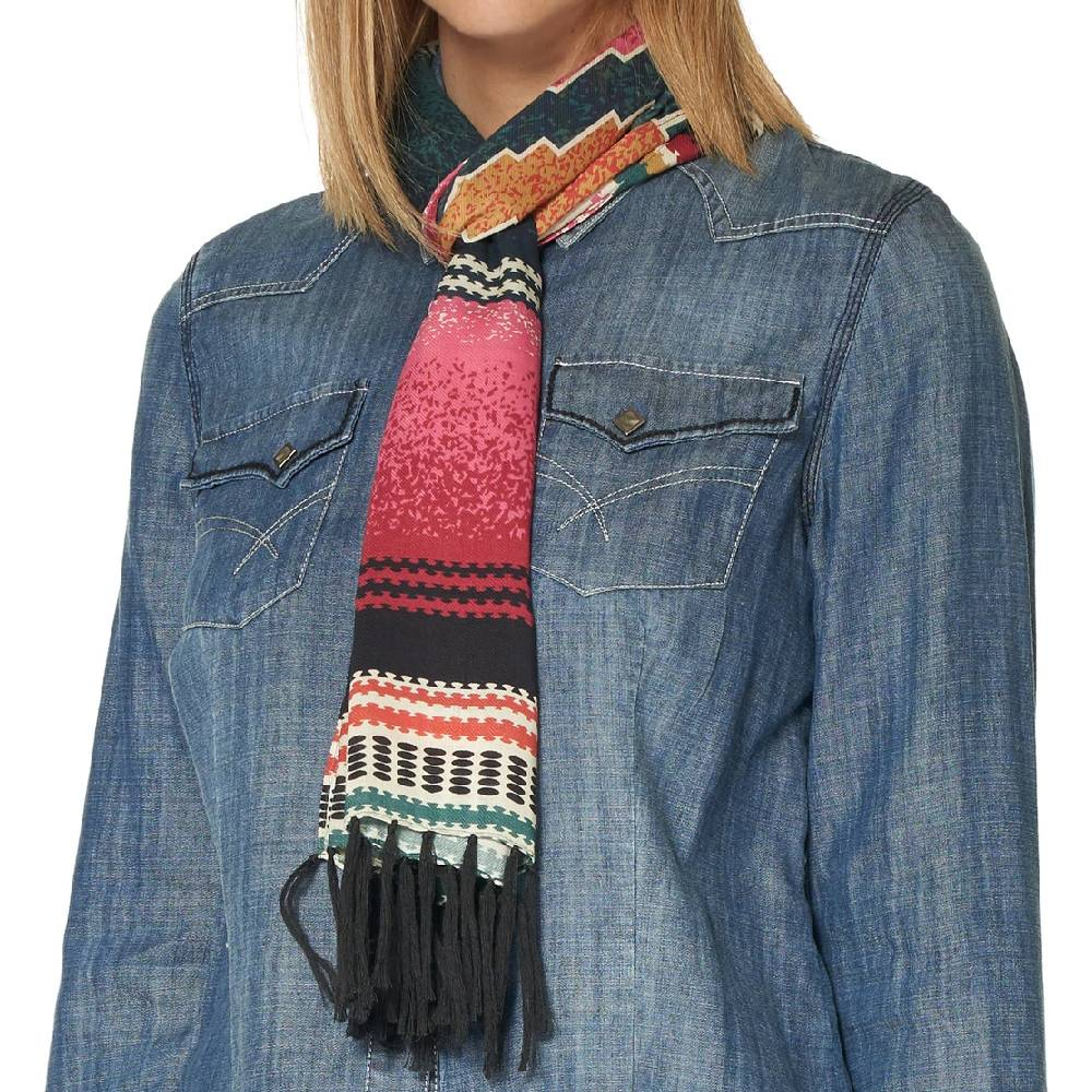 Double D Ranchwear Cynthia Serape Scarf WOMEN - Accessories - Scarves & Wraps DOUBLE D RANCHWEAR, INC. Teskeys
