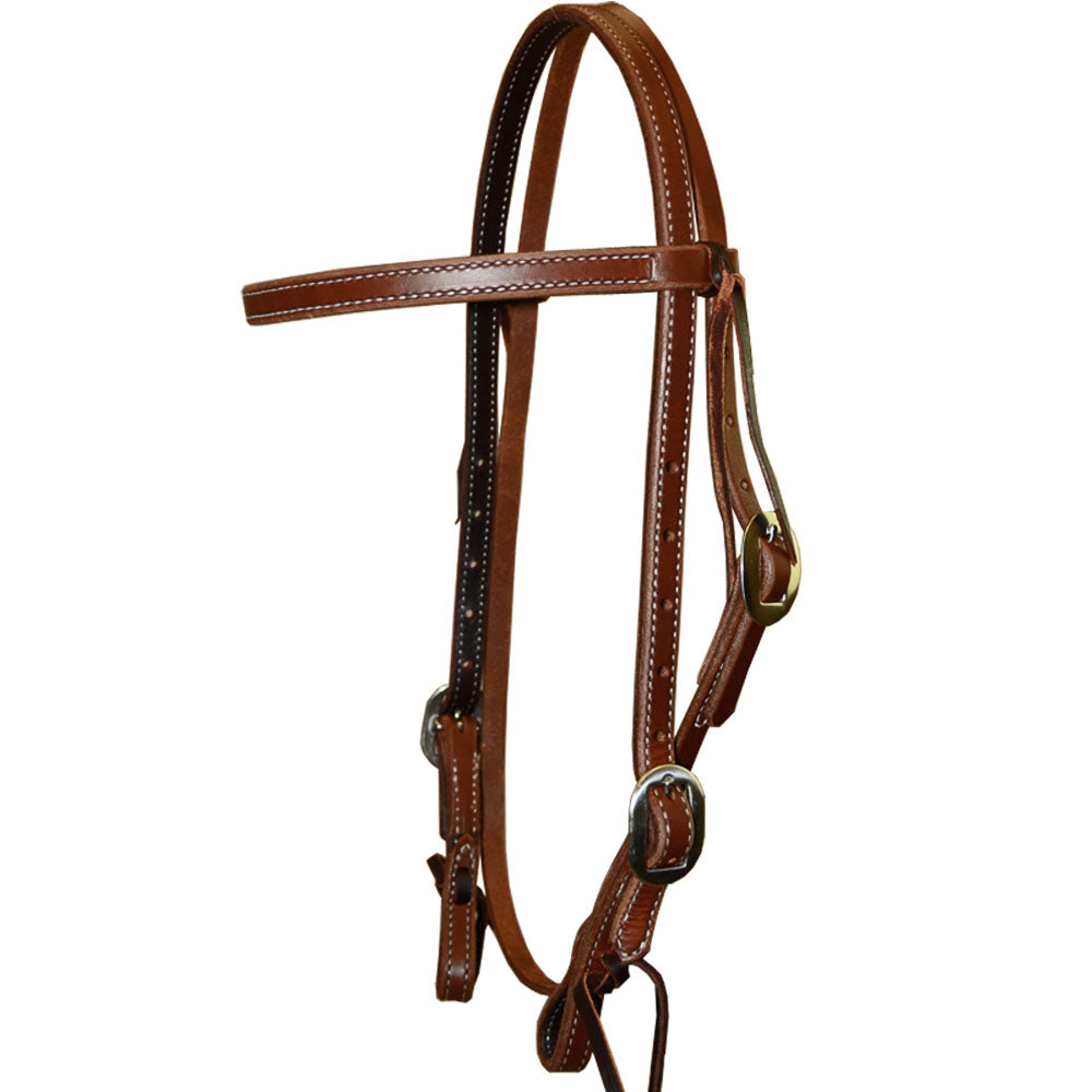 Teskey's Heavy Oil Browband Headstall Tack - Headstalls Teskey's Teskeys
