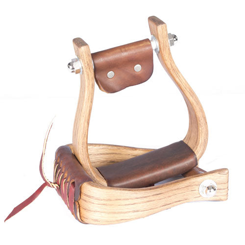 "Don Orrell 2"" Flat Bottom Rancher Stirrups Saddles - Saddle Accessories Don Orrell Teskeys"
