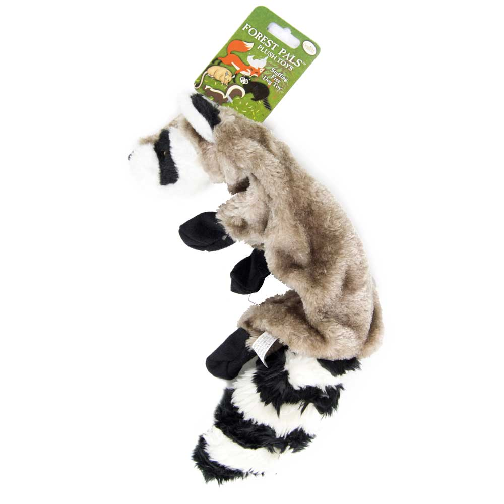 Forest Pals Plush Racoon FARM & RANCH - Animal Care - Pets - Toys & Treats Omnipet Teskeys