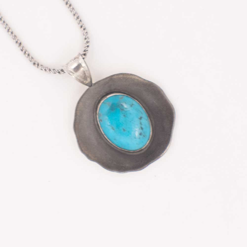BLUE CERROLITE NECKLACE WOMEN - Accessories - Jewelry - Necklaces Teskeys Teskeys