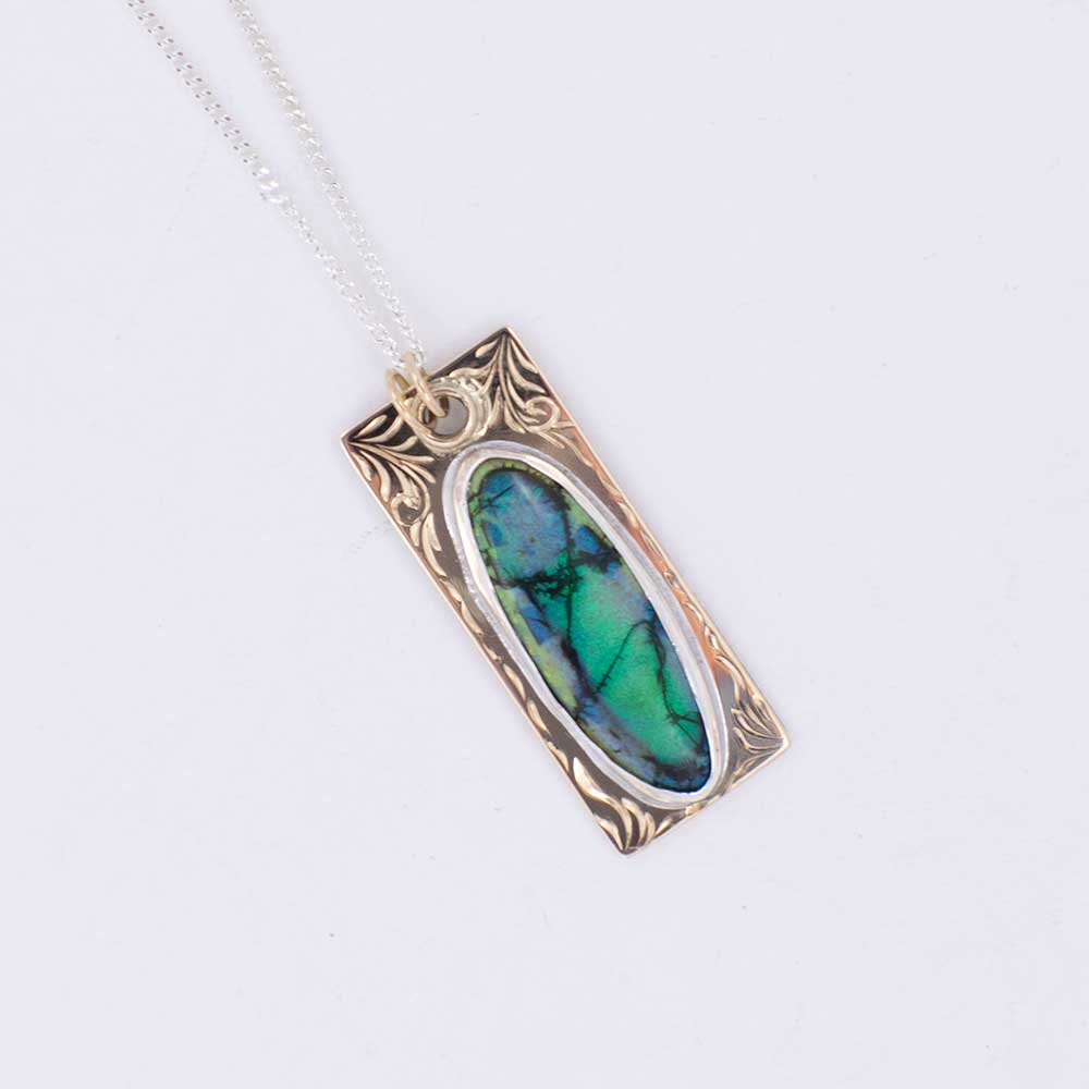14K & BOULDER OPAL WOMEN - Accessories - Jewelry - Necklaces Teskeys Teskeys