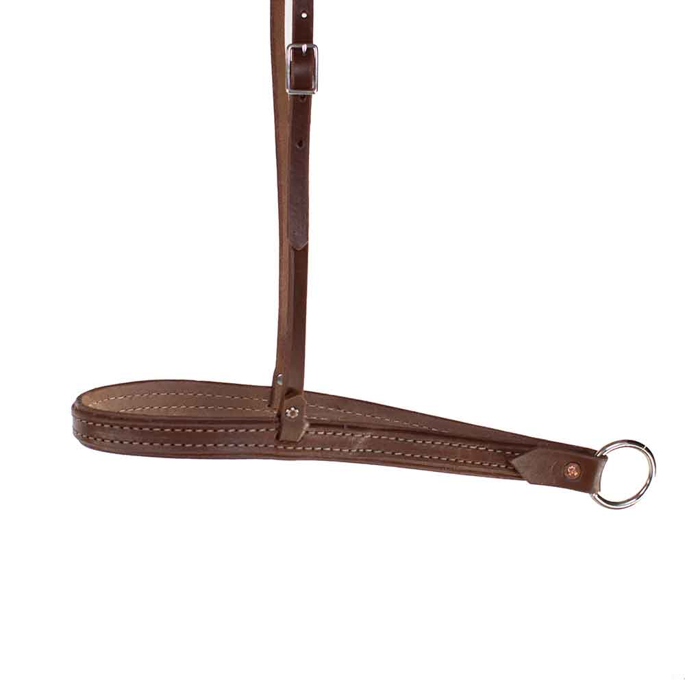 Teskey's Stitched Noseband Tack - Nosebands & Tie Downs Teskeys Teskeys