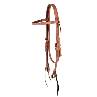 Teskey's Browband Headstall with Tie Ends Tack - Headstalls Teskey's Teskeys