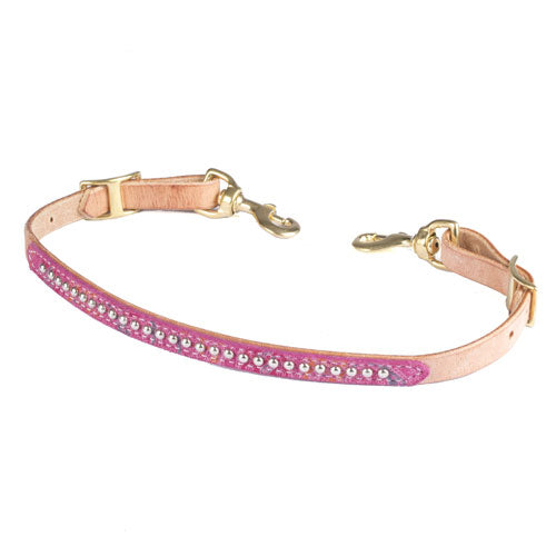 Teskey's Pink Paisley Print Wither Strap Tack - Wither Straps Teskey's Teskeys