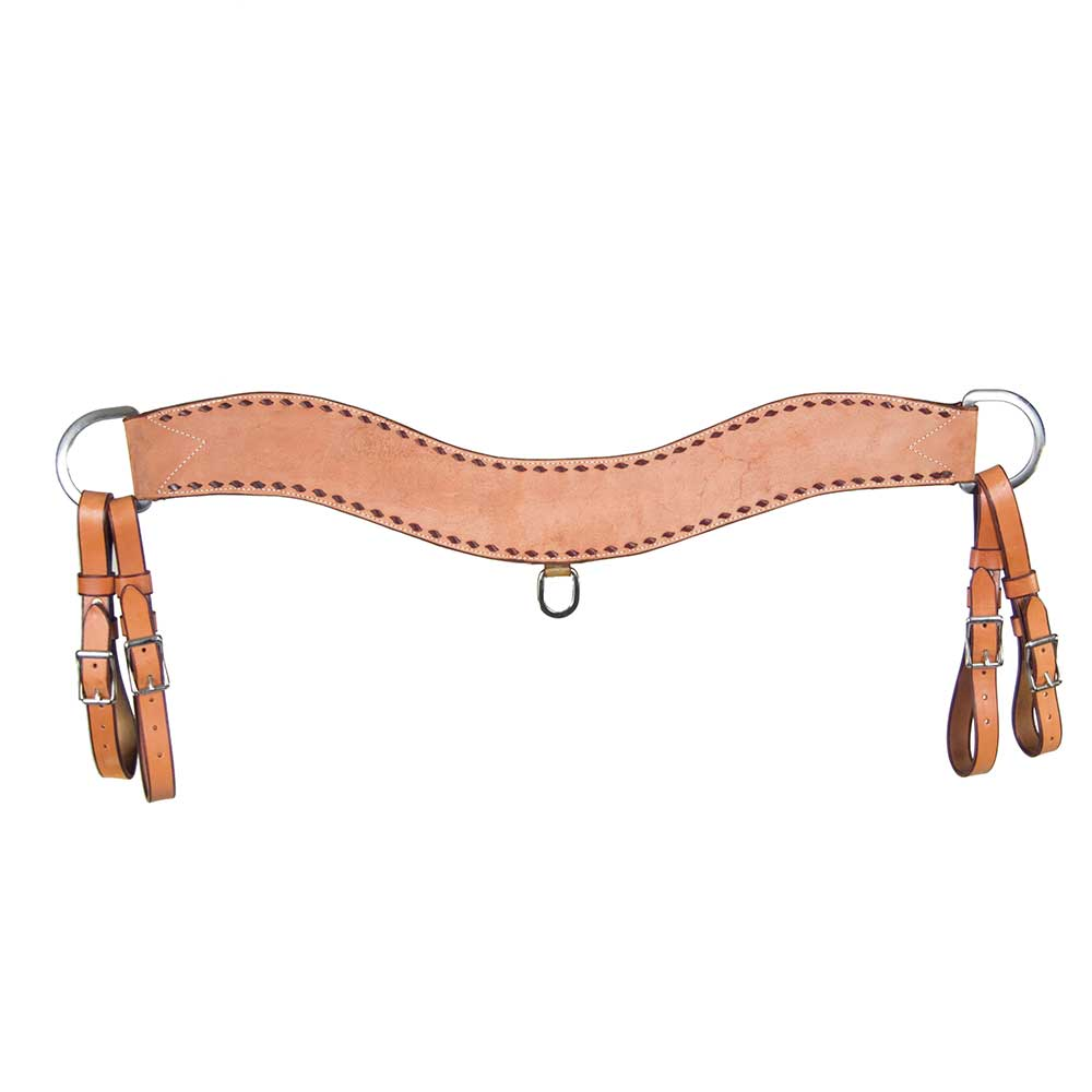 Teskey's Buck-Stitch Tripping Collar Tack - Breast Collars Teskeys Teskeys