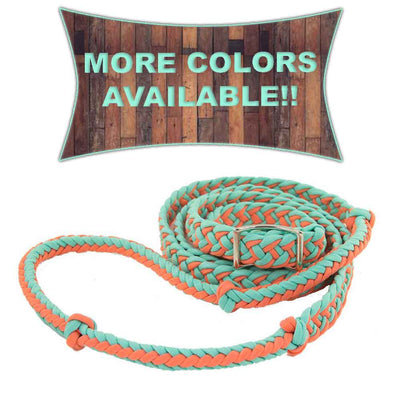 Krazy Girl Braided Barrel Reins Tack - Reins Krazy Girl Tack Teskeys