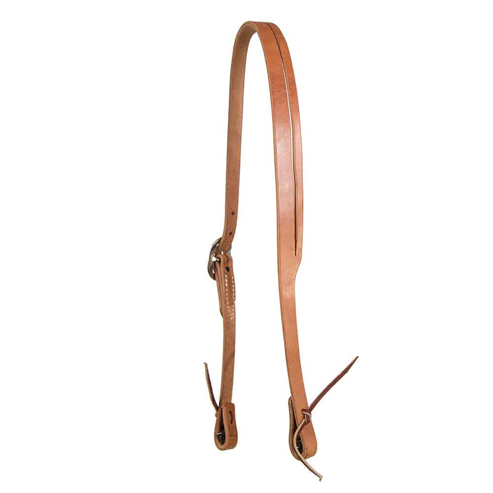 Herman Oak Leather Split Ear Headstall Tack - Headstalls Teskeys Teskeys