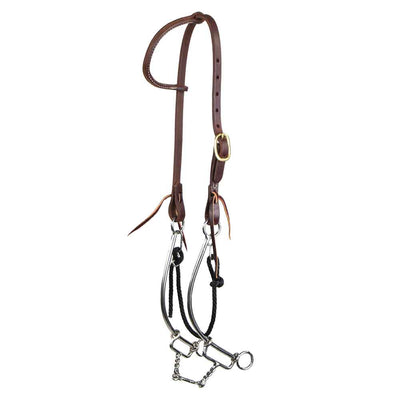 Headstall for Short No Hit Bit Tack - Headstalls Teskeys Teskeys