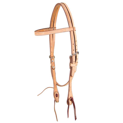 Teskey's All Roughout Browband Headstall Tack - Headstalls - Browband Teskey's Teskeys