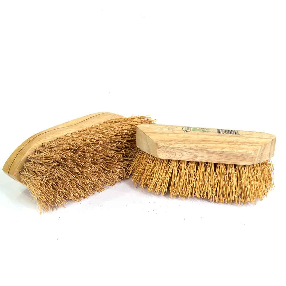 Legends Natural Rice Root Wash/Wet Brush - Furlong Farm & Ranch - Animal Care - Equine - Grooming - Brushes & combs Desert Equestrian Teskeys