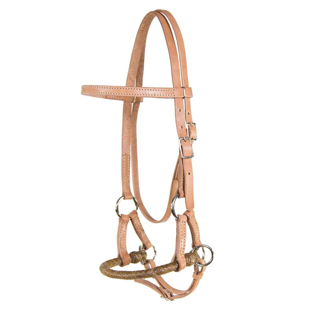 Teskey's Light Oil Side Pull Tack - Nosebands & Tie Downs Teskeys Teskeys