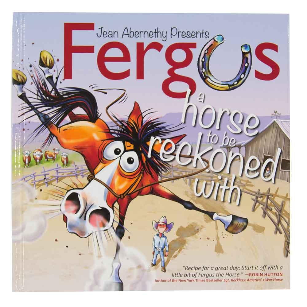 Fergus A Horse to be Reckoned With - Jean Abernethy HOME & GIFTS - Books Fergus Teskeys