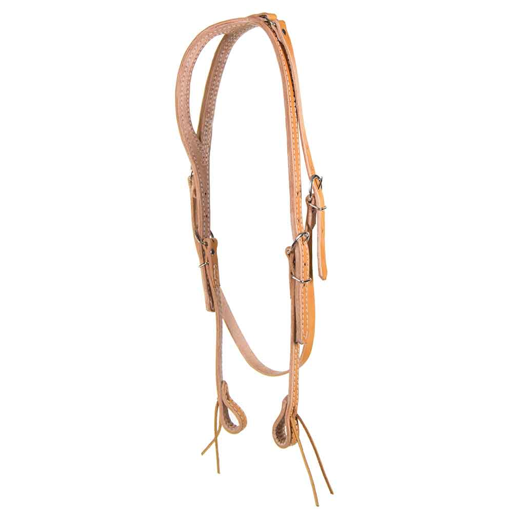 One Ear Headstall with Throat Latch Tack - Headstalls - One Ear Teskeys Teskeys