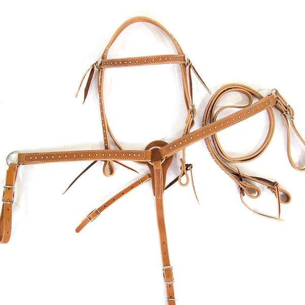 Light Oil Pony Set Tack - Pony Tack - Headstalls TESKEY'S Teskeys
