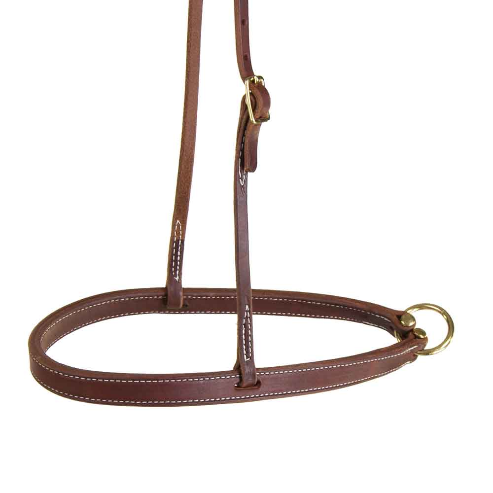 Teskey's Dark Oil Noseband Tack - Nosebands & Tie Downs Teskeys Teskeys