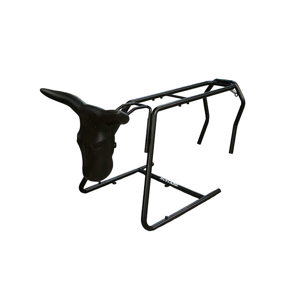 Mustang Collapsable Roping Dummy with Steer Head Tack - Ropes & Roping Mustang Teskeys