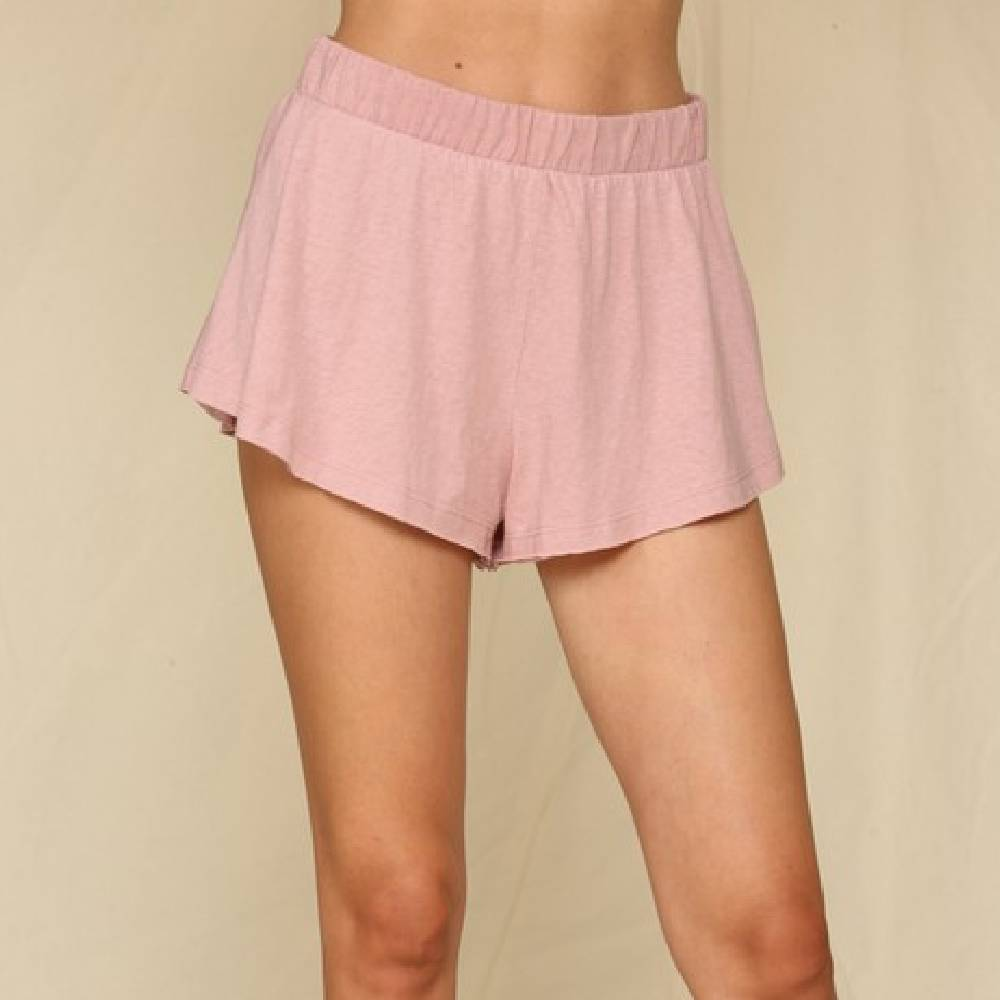 Dusty Pink Shorts WOMEN - Clothing - Shorts BY TOGETHER Teskeys