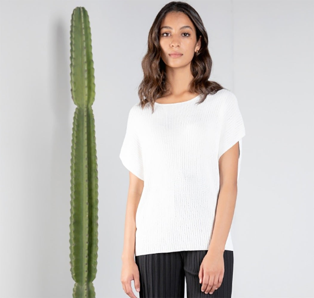 Valley Top - White WOMEN - Clothing - Tops - Short Sleeved MOD REF Teskeys