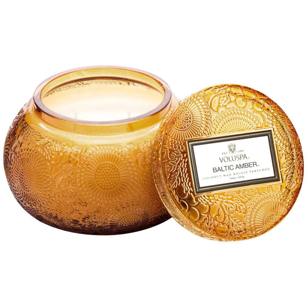 Baltic Amber Chawan Bowl Candle HOME & GIFTS - Home Decor - Candles + Diffusers Voluspa Teskeys