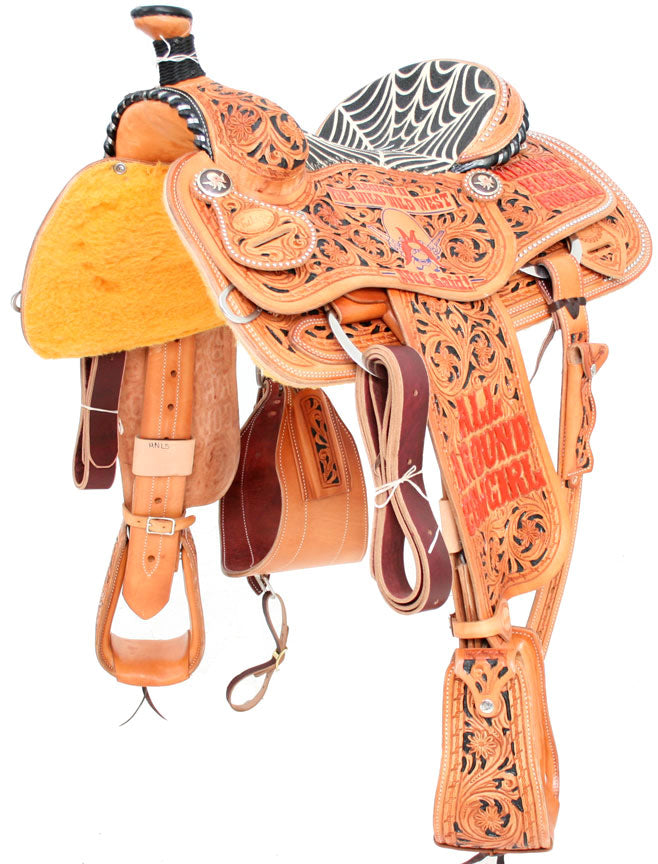 TESKEY TROPHY TEAM ROPER 18 CUSTOMS & AWARDS - SADDLES Teskeys Teskeys