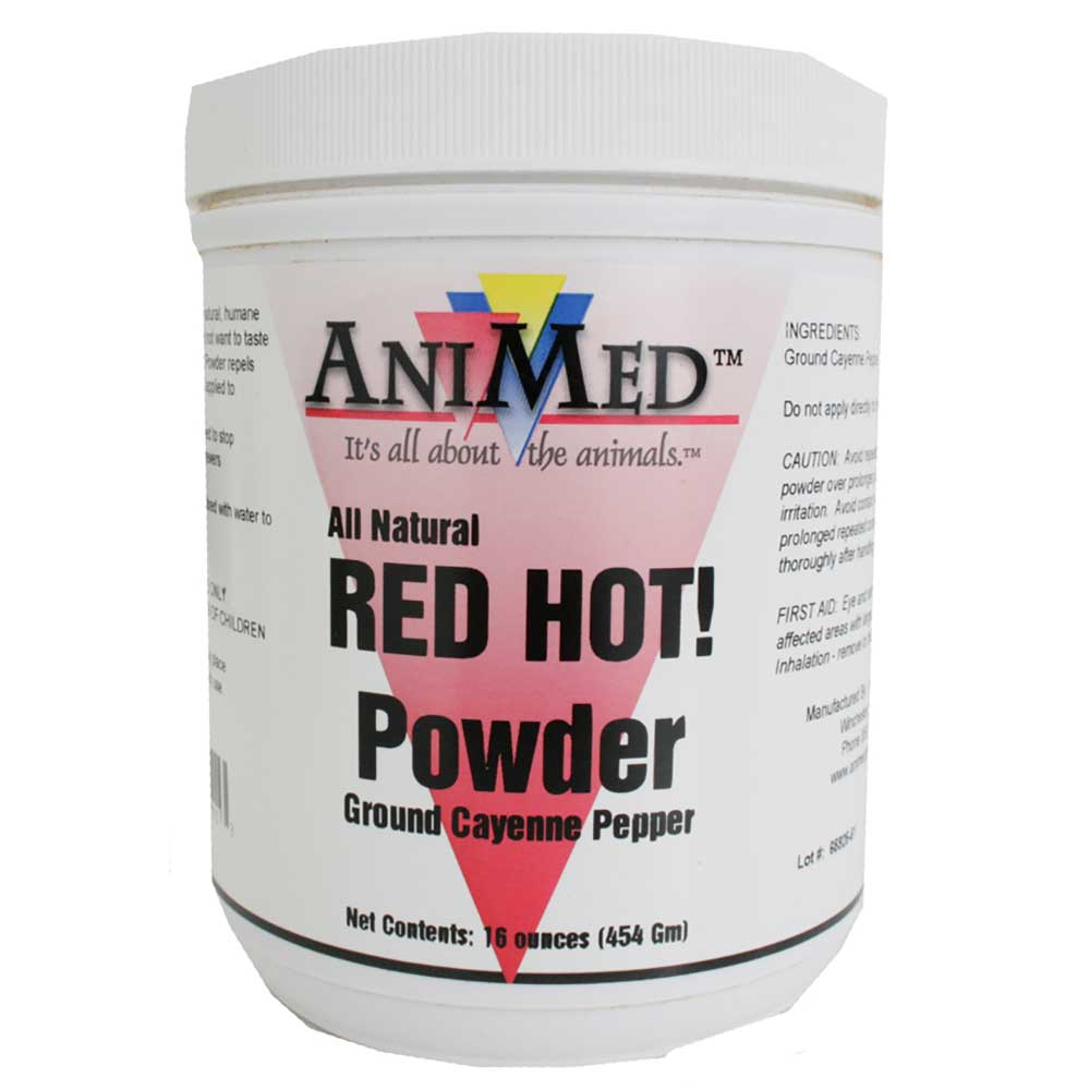 AniMed Red Hot Powder Farm & Ranch - Barn Supplies Animed Teskeys