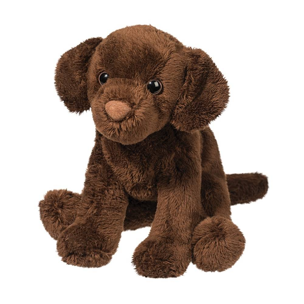 Finn Chocolate Lab Plush Toy KIDS - Accessories - Toys Douglas Toys Teskeys