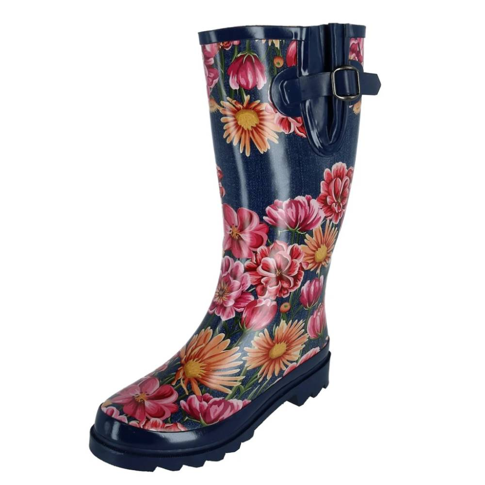 Blazin Roxx Floral Rain Boot WOMEN - Footwear - Boots - Work Boots M&F WESTERN PRODUCTS Teskeys