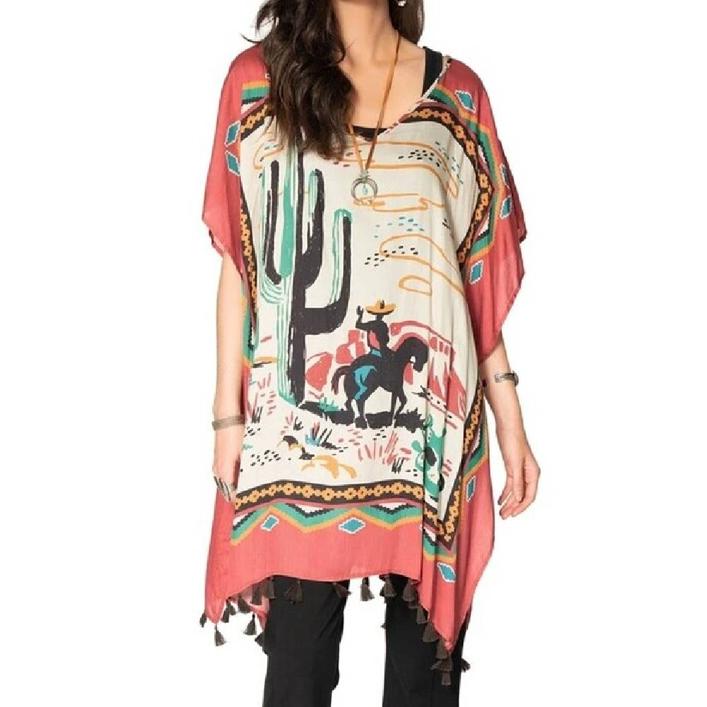 Double D Ranch Ay! Ay! Ay! Poncho WOMEN - Clothing - Tops - Tunics DOUBLE D RANCHWEAR, INC. Teskeys