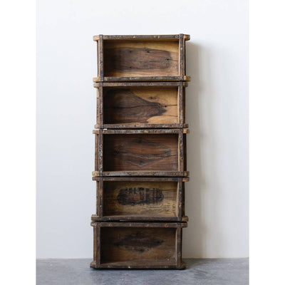 Found Wood Brick Mould Shelf HOME & GIFTS - Home Decor - Decorative Accents Creative Co-Op Teskeys