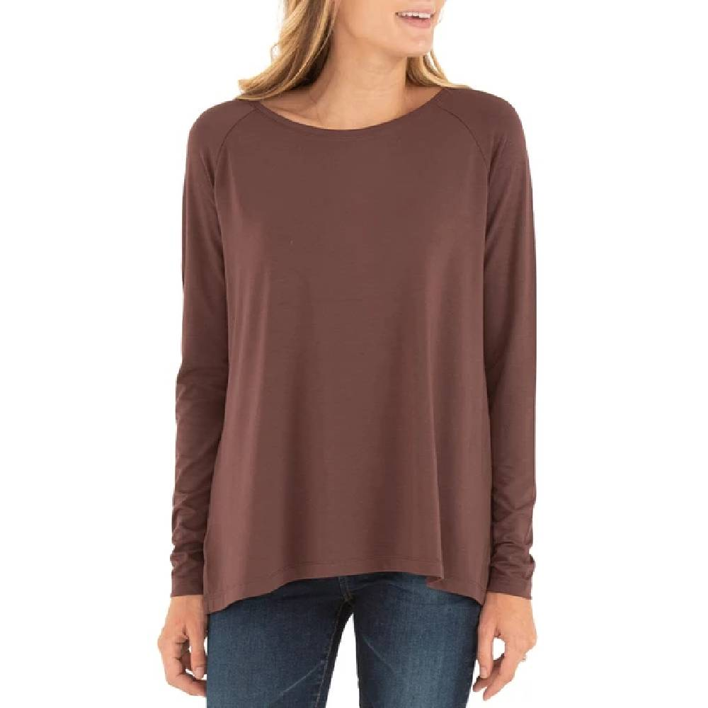 Free Fly Women's Bamboo Everyday Flex Shirt WOMEN - Clothing - Tops - Long Sleeved FREE FLY APPAREL Teskeys