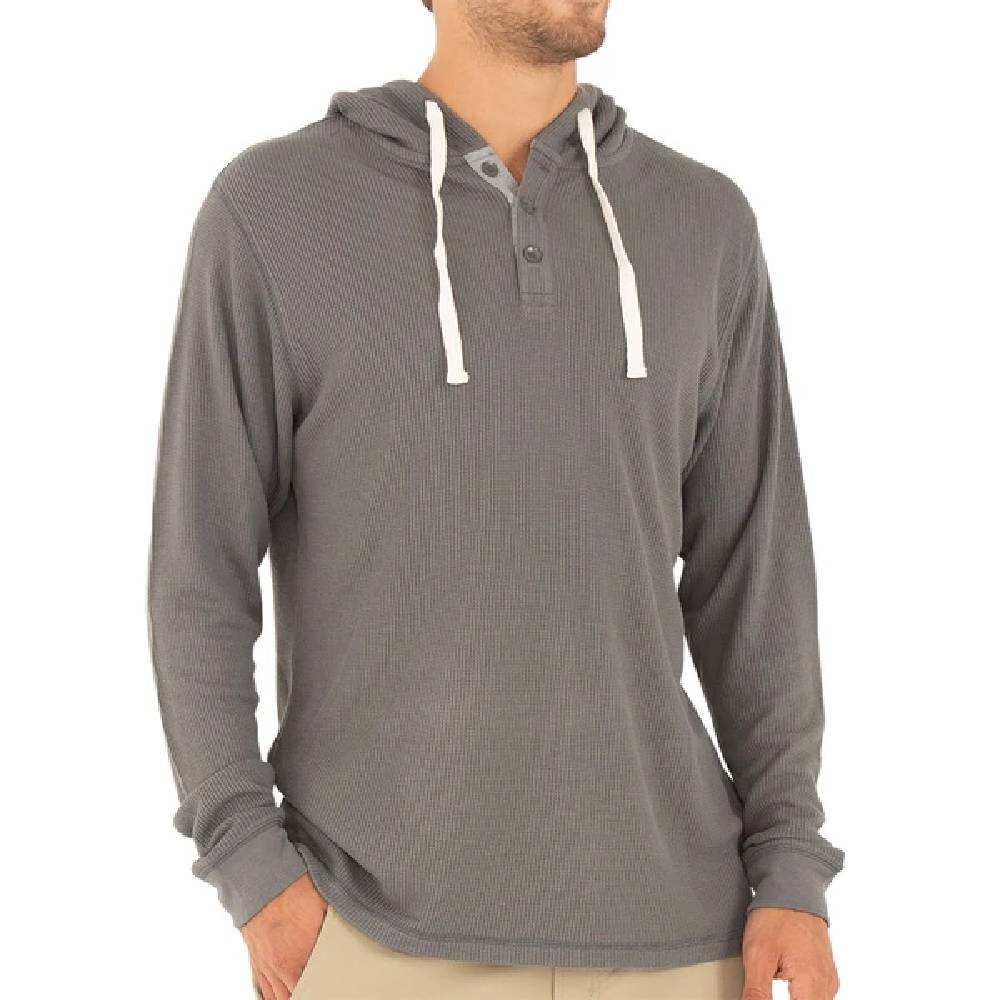 Free Fly Men's Bamboo Waffle Hoody MEN - Clothing - Pullovers & Hoodies FREE FLY APPAREL Teskeys