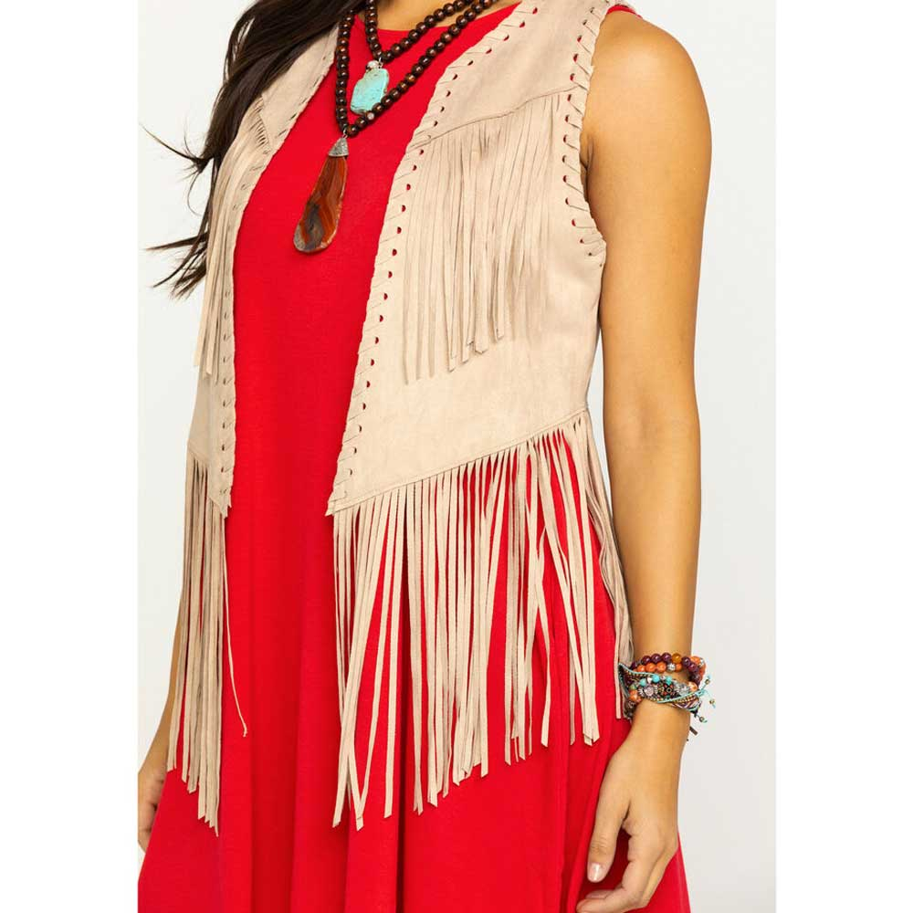 Ariat Bluegrass Fringe Vest WOMEN - Clothing - Outerwear - Vests Ariat Clothing Teskeys