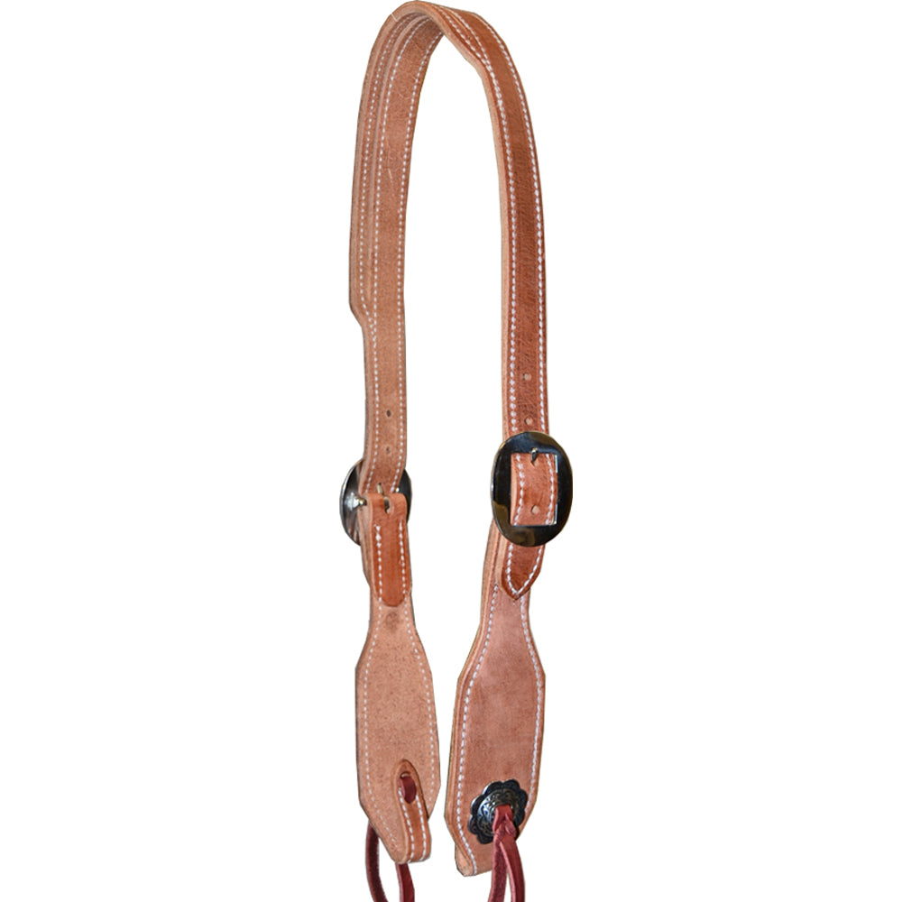 Teskey's Slit Ear Cowboy Headstall Tack - Headstalls - One Ear Teskey's Teskeys