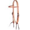 Martin Saddlery Natural Skirting Browband Headstall Tack - Headstalls Teskeys Teskeys