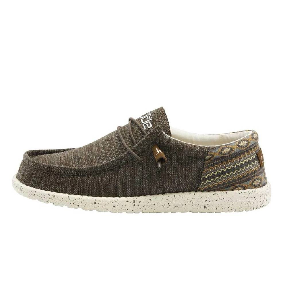 Hey Dude Men's Wally Funk - Brown Aztec MEN - Footwear - Casual Shoes HEY DUDE Teskeys