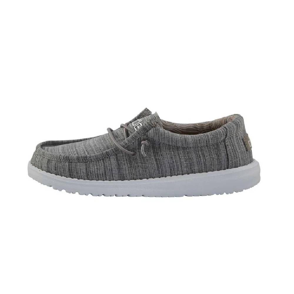Hey Dude Youth Wally - Linen Stone KIDS - Footwear - Casual Shoes HEY DUDE Teskeys