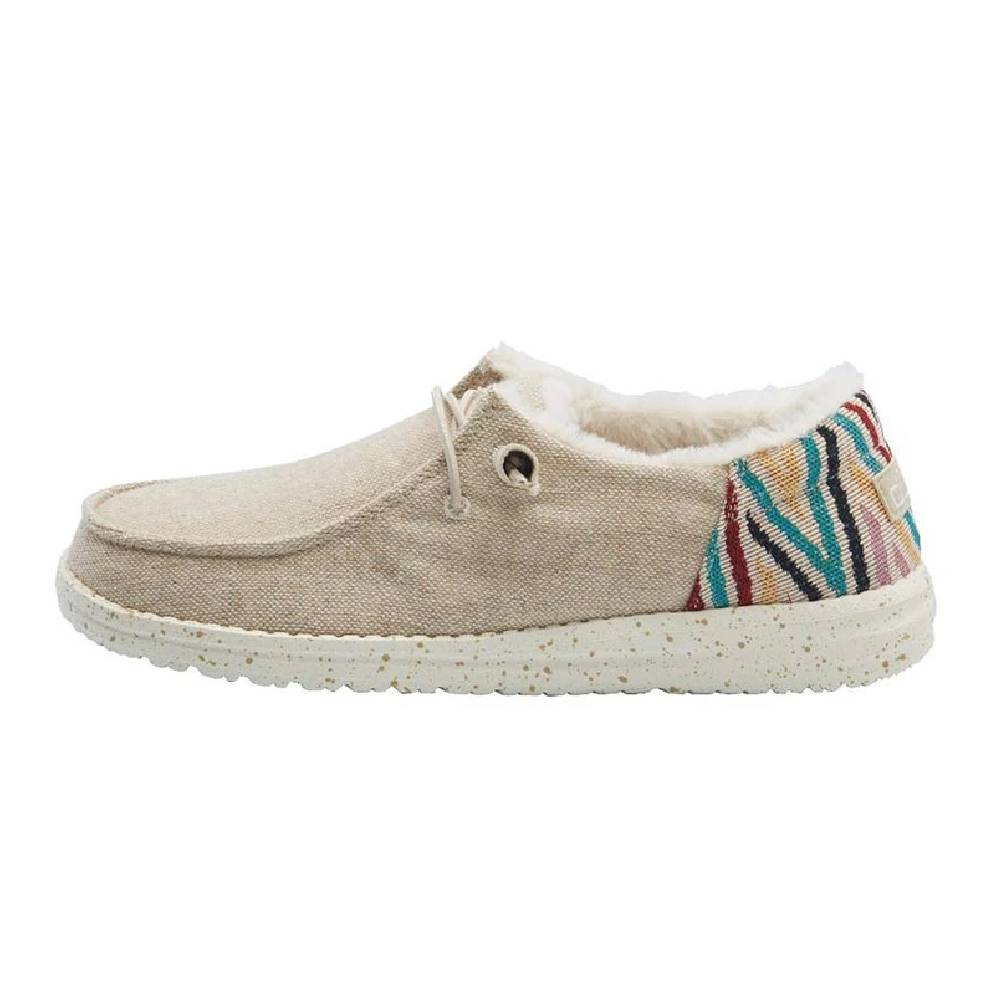 Hey Dude Women's Wendy - Funk Wool Beige WOMEN - Footwear - Casuals HEY DUDE Teskeys