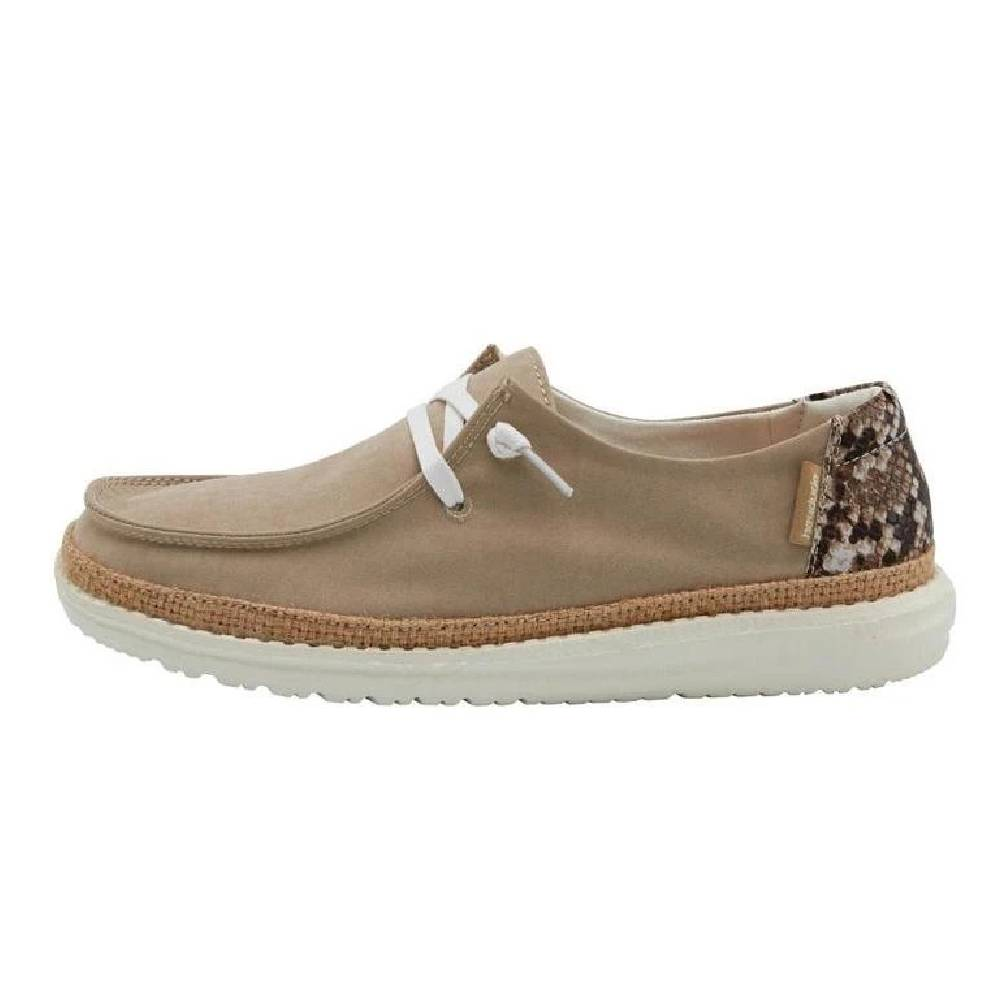 Hey Dude Women's Wendy - Python Brown WOMEN - Footwear - Casuals HEY DUDE Teskeys