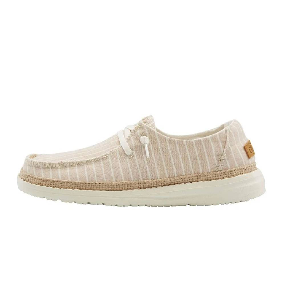 Hey Dude Women's Wendy - Stripes Beige WOMEN - Footwear - Casuals HEY DUDE Teskeys