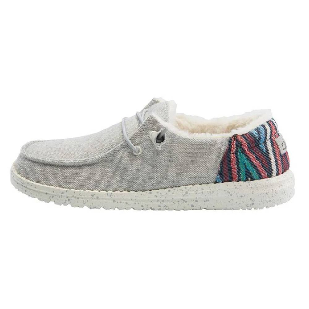 Hey Dude Women's Wendy - Funk Wool Grey WOMEN - Footwear - Casuals HEY DUDE Teskeys
