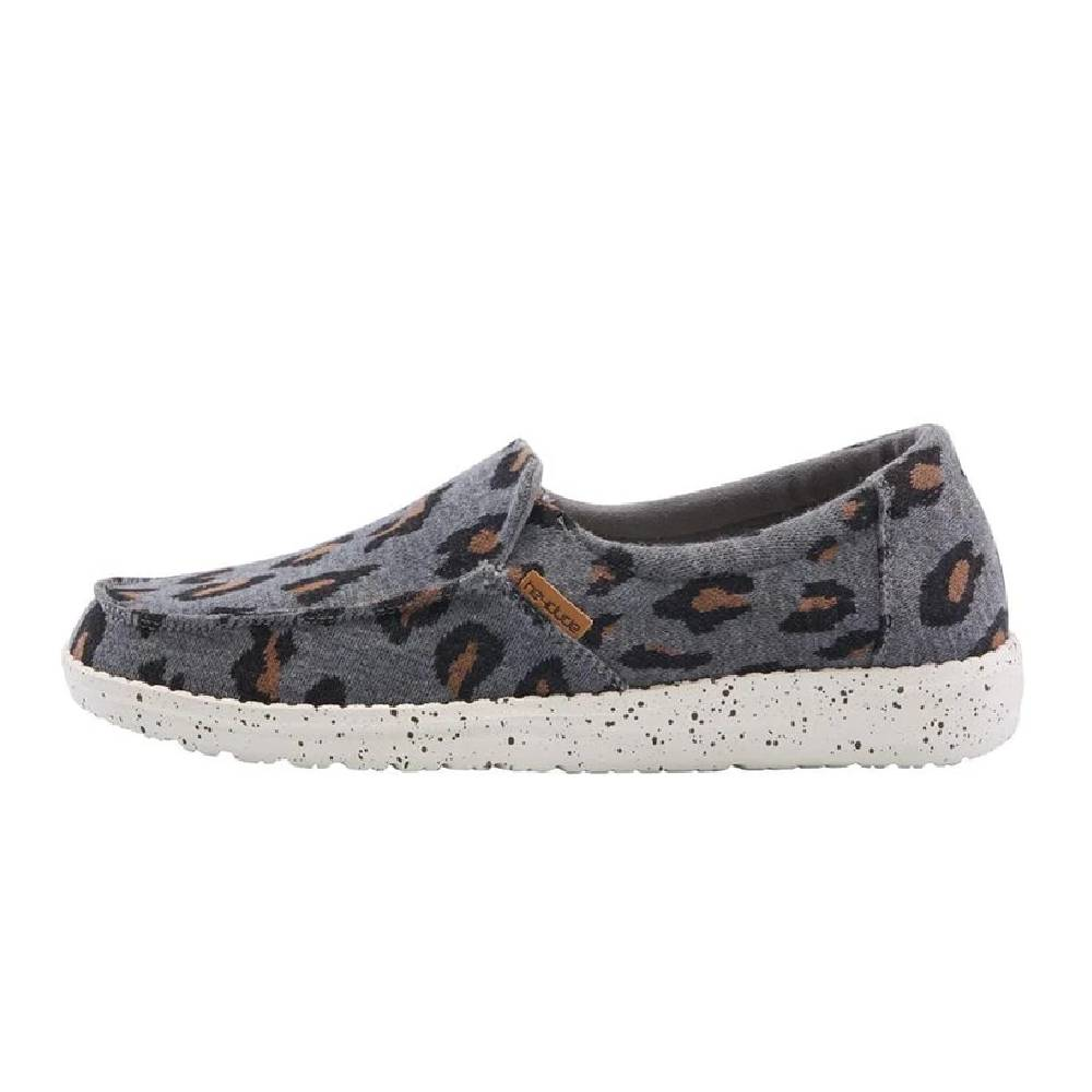 Hey Dude Misty - Charcoal Cheetah WOMEN - Footwear - Casuals HEY DUDE Teskeys