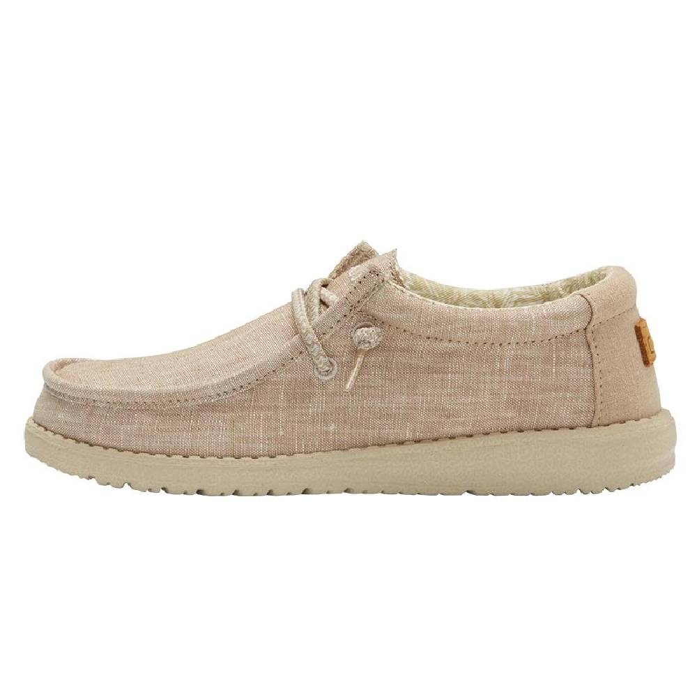 Hey Dude Youth Wally - Beige KIDS - Footwear - Casual Shoes HEY DUDE Teskeys