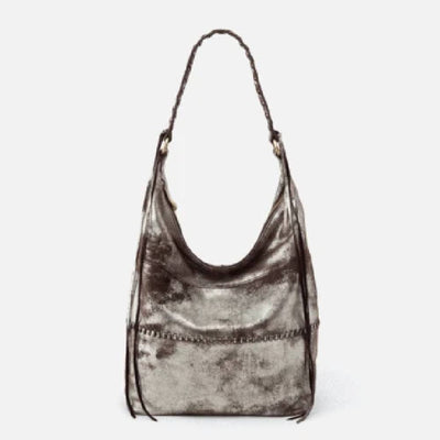 HOBO Entwine Velvet Hide Purse WOMEN - Accessories - Handbags - Shoulder Bags HOBO BAGS Teskeys