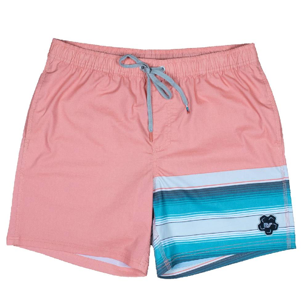 Hooey Big Wake Coral Board Shorts MEN - Clothing - Surf & Swimwear HOOEY Teskeys