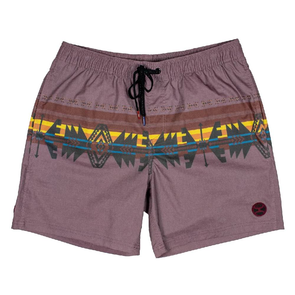 Hooey Big Wake Maroon Volley Board Shorts MEN - Clothing - Surf & Swimwear HOOEY Teskeys