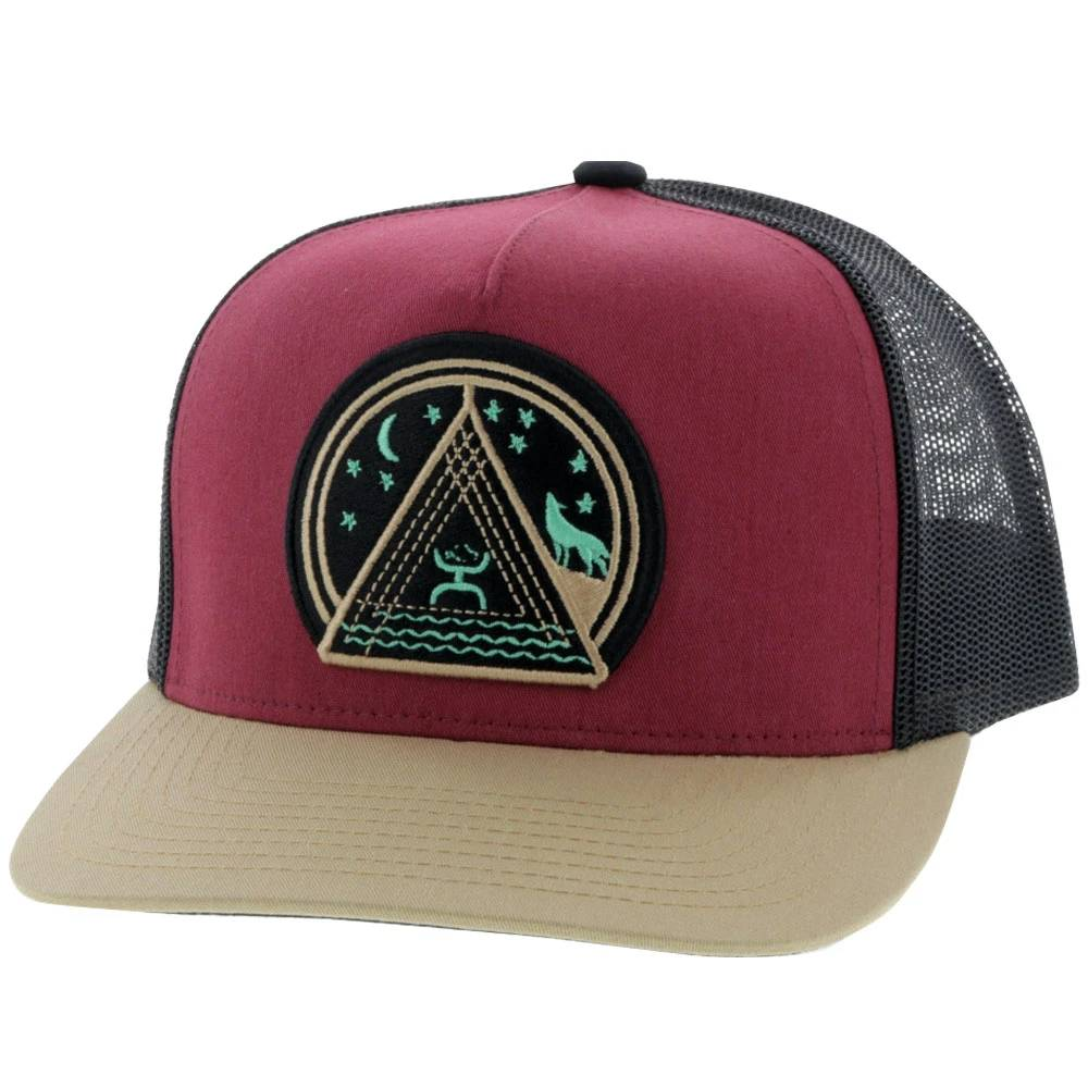 """Hooey Music"" Trucker Cap HATS - BASEBALL CAPS HOOEY Teskeys"