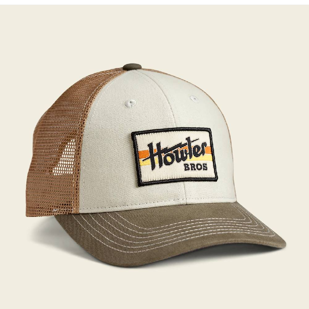Howler Electric Stripe Cap HATS - BASEBALL CAPS HOWLER BROS Teskeys