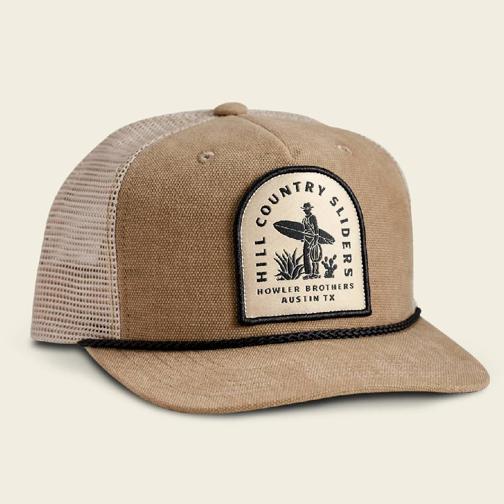 Howler Hill Country Sliders Snapback Cap HATS - BASEBALL CAPS HOWLER BROS Teskeys