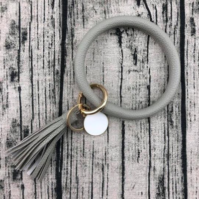 Key Ring Tassel Bangle